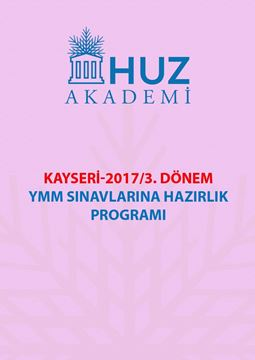 Resim KAYSERİ-2017/3. Dönem YMM Sınavlarına Hazırlık Programı