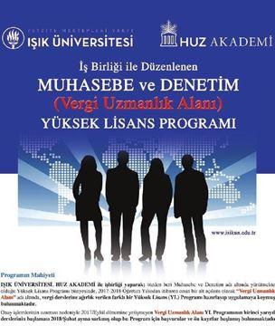 Resim Işık Üniversitesi - HUZ Akademi Ortak Yüksek Lisans Programı