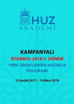Resim İSTANBUL-2018/1.DÖNEM KAMPANYALI YMM SINAVLARINA HAZIRLIK PROGRAMI