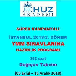 Kategori İçin Resim YMM-İstanbul-2018/3