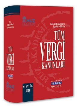 Resim TÜM VERGİ KANUNLARI (40. Baskı / 1 Eylül 2019)