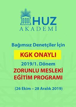 Resim KGK -ZORUNLU MESLEKİ EĞİTİM PROGRAMI-2019/1
