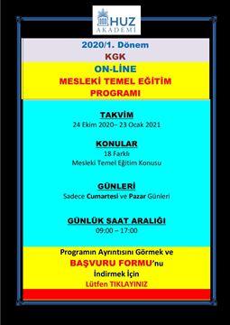 Resim KGK ZORUNLU MESLEKİ TEMEL EĞİTİMLERİ-2020/1. Dönem