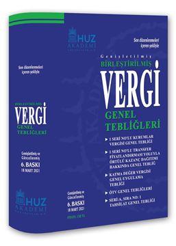 Resim BİRLEŞTİRİLMİŞ VERGİ GENEL TEBLİĞLERİ/6.Baskı-Mart/2021